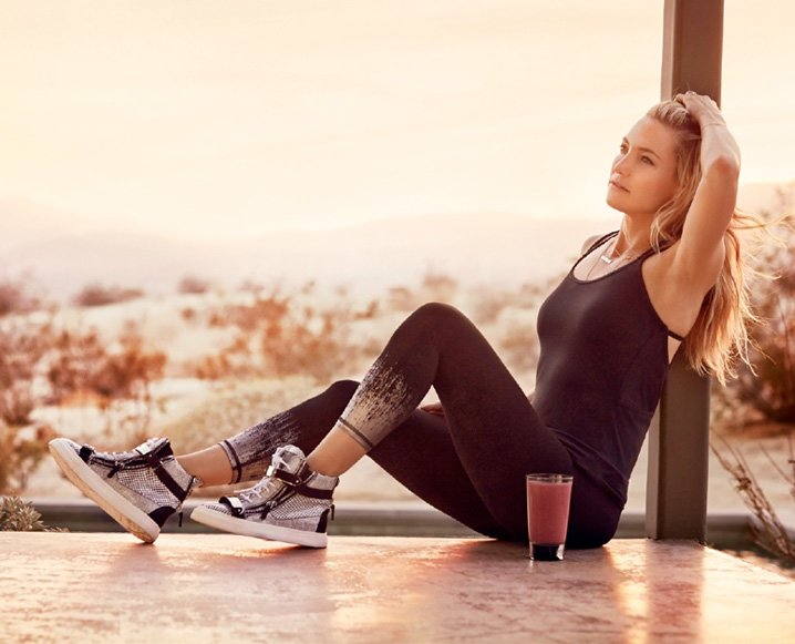 Kate Hudson Shares Wine + Workout Secret - Weight Loss Groove