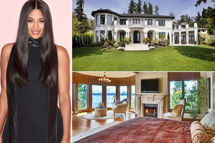 Ciara And Her Athlete Husband Russell Wilson Bought A Mansion In Bellevue Wealthy Area Close To Lake Washington With Their Combined Net Worth