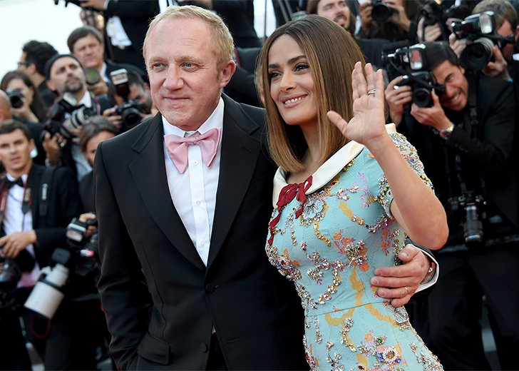 Gorgeous Wives of The ... Salma Hayek Husband Occupation