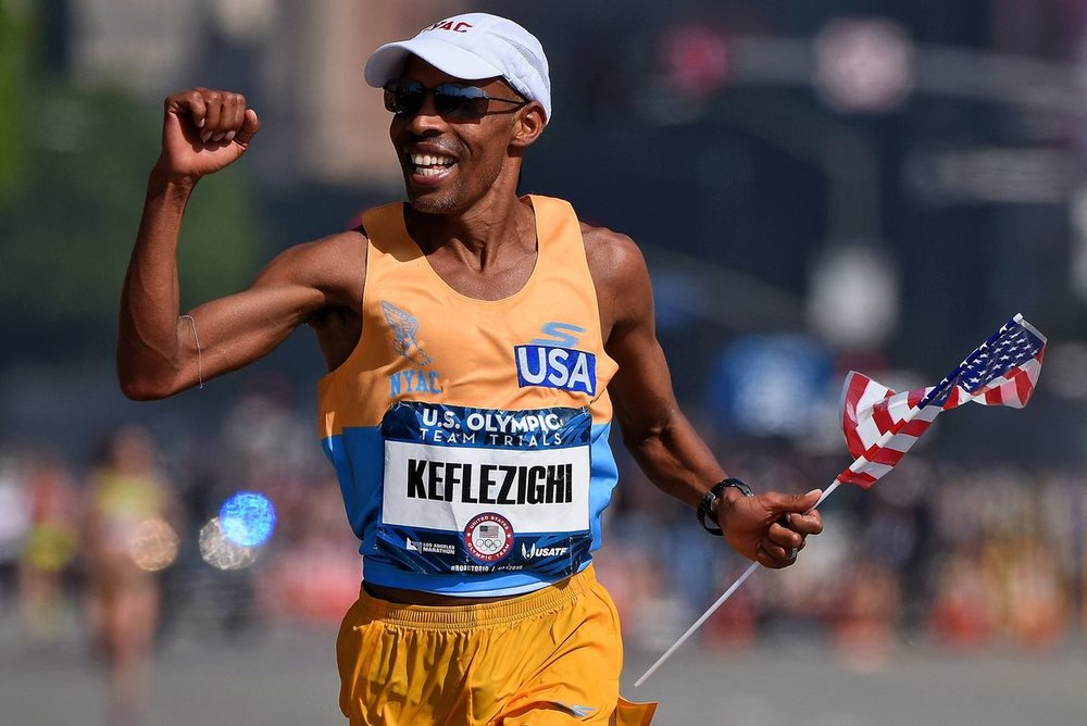 Keflezighi adds most runners tend to gain weight the moment they stopped running and stayed indoors during Winter.
