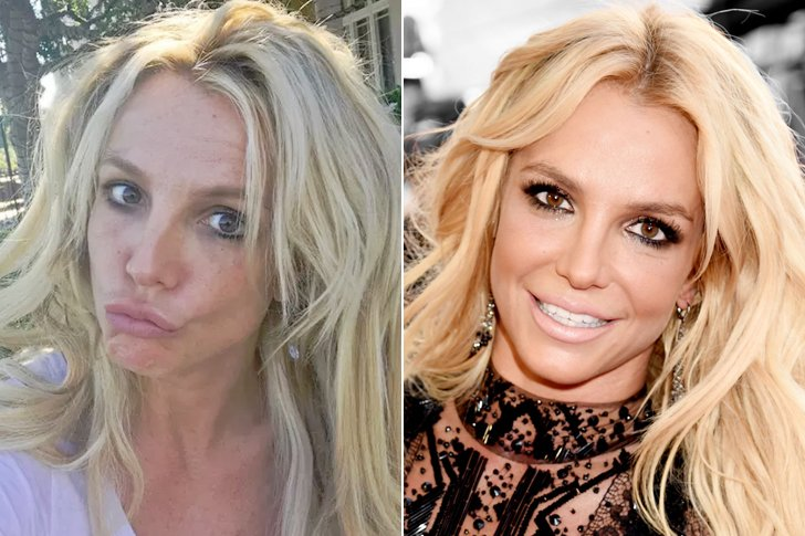 how these gorgeous celebrities look without makeup or any