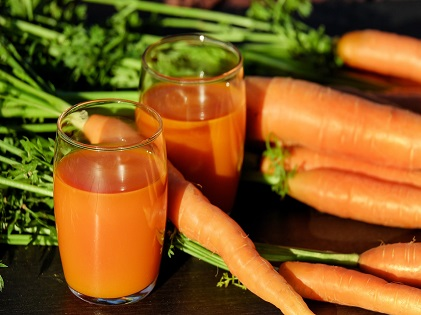 carrot juice vegetable cleanse