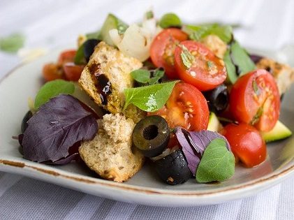 salad vegan raw healthy